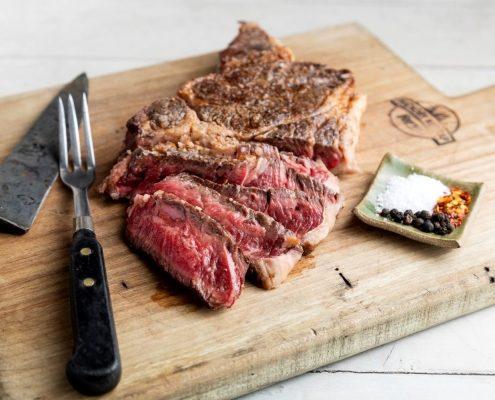 Ribeye Steak Hickory Nut Gap Grassfed Pasture Raised